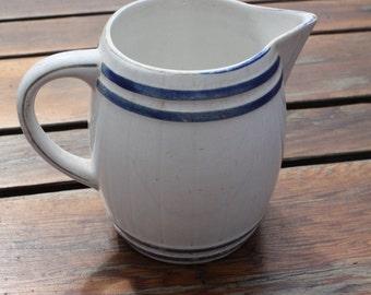 Small Blue / White - Vintage Villeroy & Boch Jug