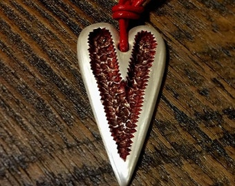 Chip Carved Heart