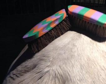 Custom Horse Brushes (Set of 2)