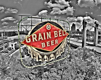 Grain Belt Sign