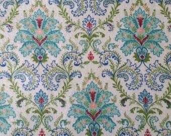 Floral Damask Swaddle Blanket