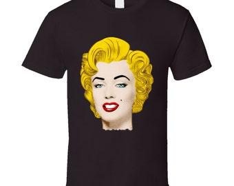 Marilyn Monroe Black T Shirt
