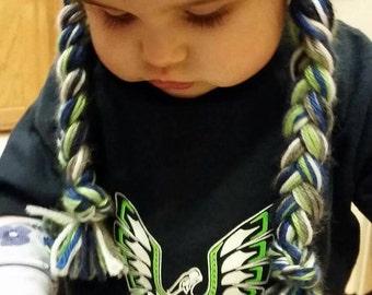 Seahawk Toddler sizes hoodies