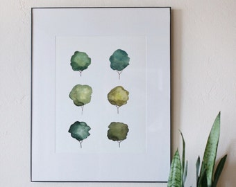 Tree Watercolor Print