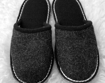 Felt slippers, Filpantoffeln, felt slippers, slippers, o.Str., GummisohleGr. 35-47, new