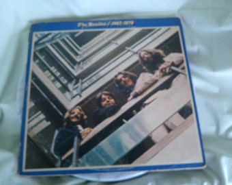 Beatles Blue Album Apple Label