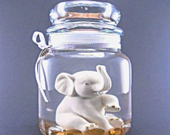 Vintage Lenox Elephant Forever Gel Candle, Refill the tealight holder, Keep the candle forever. Over 20 scents to choose from.