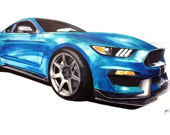 Ford Mustang Shelby GT350R Sports Car