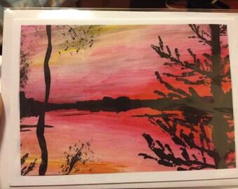 Finland Paintings Greetings Cards All Occasions Original Artwork