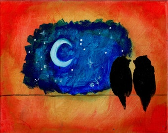 CLEARANCE! Love Birds Painting