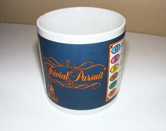 Trivial pursuit cup