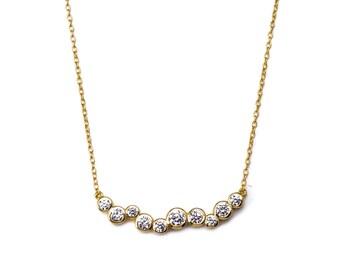 Gold Stella Necklace