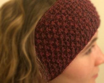 Nubby Knit Earband