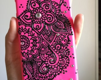 Hot Pink I-phone 6/6s case