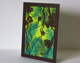 Tropical - lasercut - 2