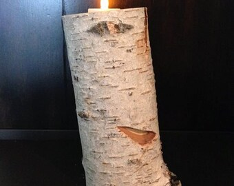 Birch Candle