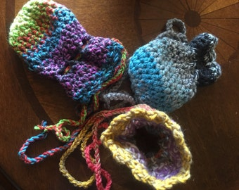 Crocheted dice bag Etsy