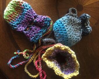 Dragon Egg Dice Bag Crochet Pattern : Crocheted dice bag Etsy