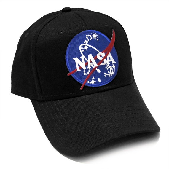 NASA OFFICIAL Emblem Insignia Logo Patch Baseball Adjustable