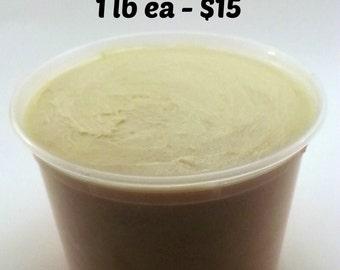 SHEA Butter & COCOA Butter Combo Deal 1 lb each