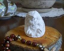 Hedgehog handmade gypsum sculpture, Figure for Coloring, Home Decor, KidsColoring3D