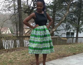 African Midi dress.