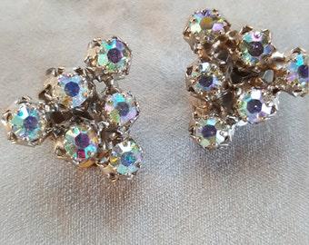 Stunning Vintage Austria Clip on earrings