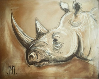 Rhinoceros Sketch