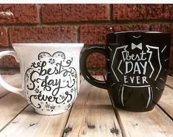 Wedding Morning Mugs