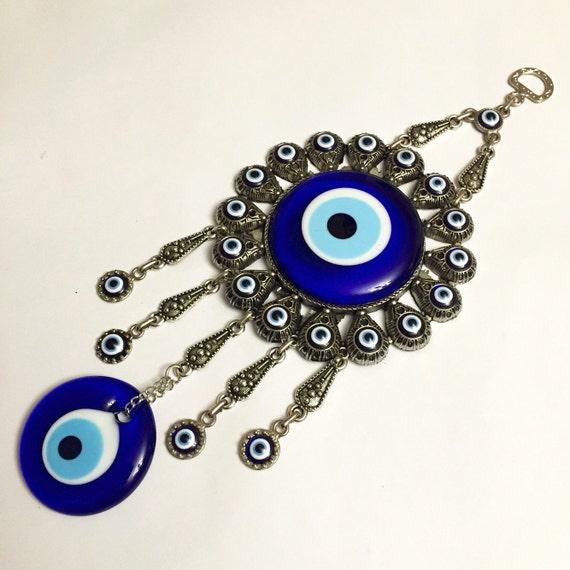 Evil Eye Wall Hanging Evil Eye Beads Nazar By