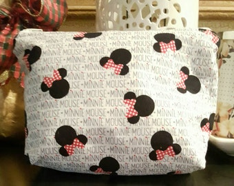 Minnie Mouse Cosmetics Bag