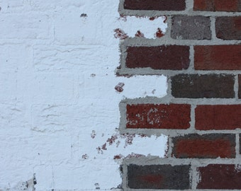 Decayed Painted Brick 2