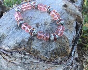 Peachy Pink Sorbet Bracelet