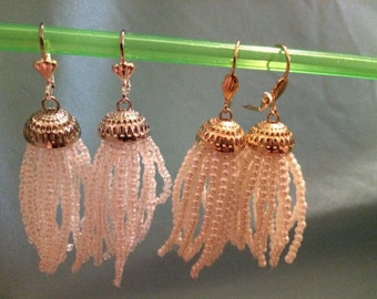 Jellyfish Earrings - Chandelier Earrings