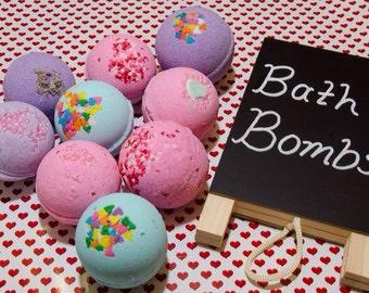 LUSH inspired bath bombs