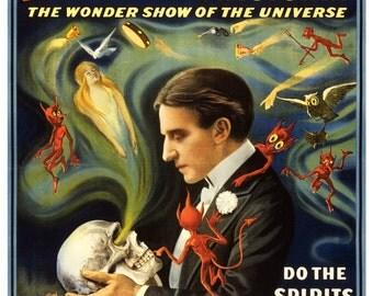 Vintage Thurston Magician Poster Print