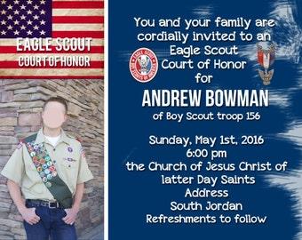 Eagle Court of Honor Invite