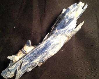 """Brazilian blue kyanite 184g 6""""x1.5"""" bk107"""