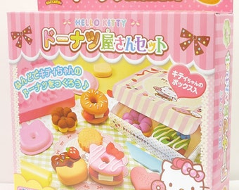 Hello Kitty Donuts Shop  Clay Tools - Play Doh Clay Acessories Children Crafts by Sanrio
