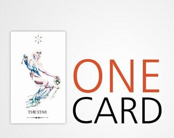 One Card Tarot Reading | 1 card | 1 question | Custom reading | Quick insight and guidance | Love | Career | Help | Spiritual | Tarot