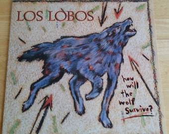 Los Lobos - How Will The Wolf Survive? - 1-25177 - 1984 Original Issue - NM!