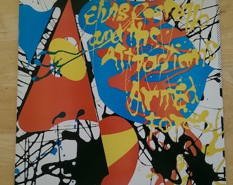 Elvis Costello and the Attractions - Armed Forces - PC 35709 - 1979 (1984 Reissue)