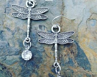 Flight of the Dragonfly Earrings