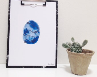 Watercolor print · Alma ·