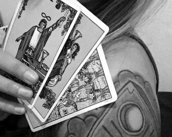 Three card reading - Rider Waite deck