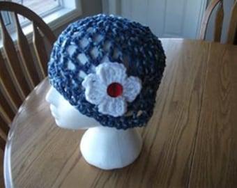 SPRING - crochet hat