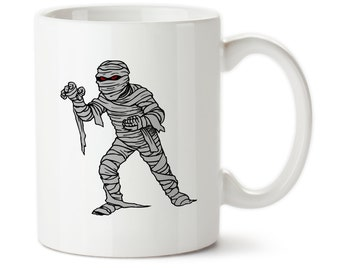 Mummy, Halloween, Halloween mug, Funny halloween, Mummy mug, Mummy coffee mug, scary mug, Scary halloween mug, Mummy drinkware