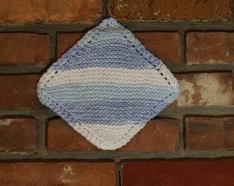 Handknit Cotton Dishcloth
