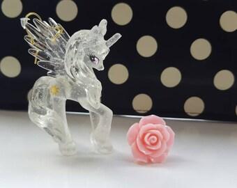 Princess Celestia Transparent My Little Pony Dangle Earrings