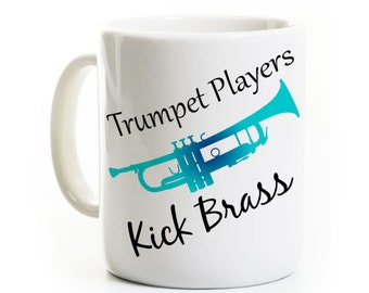 Trumpet Player Gift - Coffee Mug - Jazz Band Player - Quartet